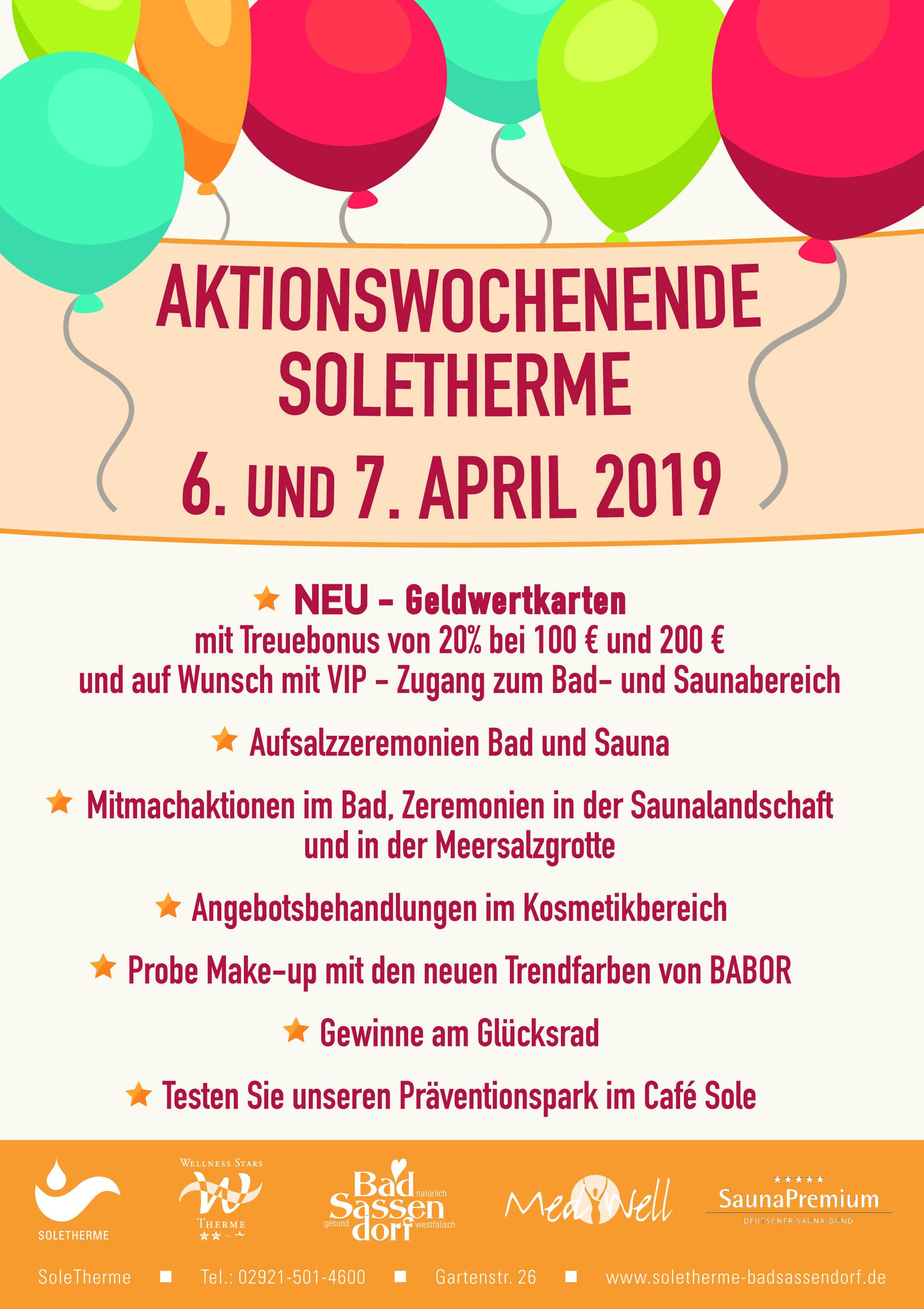Aktionswochenende April_2019 Beitragsbild